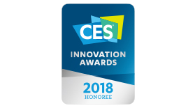 CES 2018 Innovations Honoree - Award